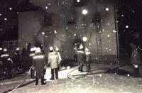 Gaststättenbrand am 01.Januar 1985 in Ittling