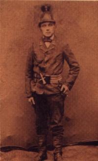 Johann Münzel, Gründer der Feuerwehr Hüttenbach