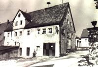Das Feuerwehrgerätehaus im ehemaligen Patrimonialgerichtsgebäude (1960 bis 1978)